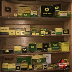 Incredibly Large John Deere Parts Collection (Bearings, Piston Rings, Pump Parts, etc) MUST LOOK!