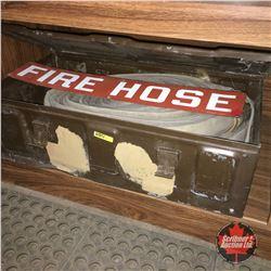 Fire Hose w/Sign & Ammo Box