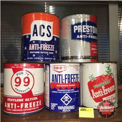 Anti Freeze Tin Group : Variety (5)