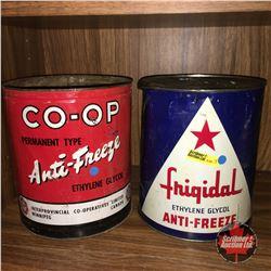 Anti Freeze Tins : Co-op & Frigidal