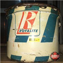 25lb Grease Pail: Royalite