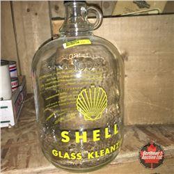 """Shell Glass Kleanzit"" Jug"