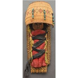 PAIUTE INDIAN DOLL CRADLE