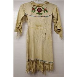 PLATEAU INDIAN HIDE DRESS