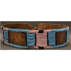CROW INDIAN PANEL BELT