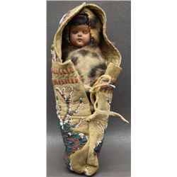 LAKOTA SIOUX  ELK DREAMER SOCIETY DOLL CRADLE