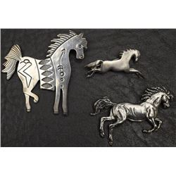 WESTERN HORSE PINS