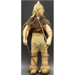 IROQUOIS INDIAN CORN HUSK DOLL
