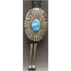 NAVAJO INDIAN BOLO (THOMAS SINGER)