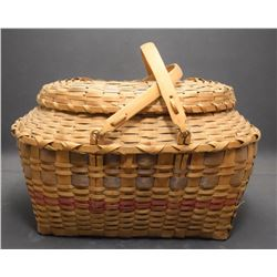 WOODLANDS INDIAN BASKET