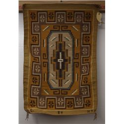 NAVAJO INDIAN TEXTILE  (EVELYN CURLY)
