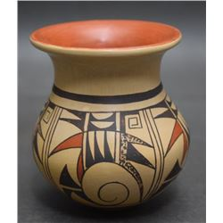 HOPI INDIAN POTTERY VASE (NAVASIE)