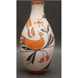 ACOMA INDIAN POTTERY VASE (LEWIS)