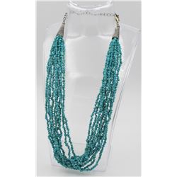 TEN STRAND TURQUOISE NECKLACE