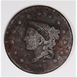 1839/6 LARGE CENT VG/FINE