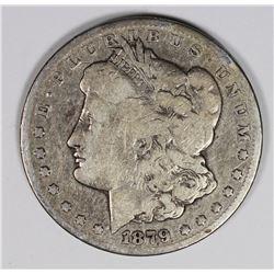 1879-CC MORGAN SILVER DOLLAR VG