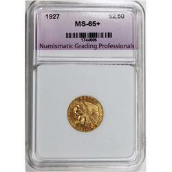1927 $2.50 INDIAN GOLD NGP