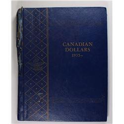 CANADIAN SILVER DOLLARS 1958-1966. ALL CH BU!