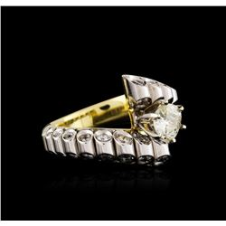 18KT Yellow Gold 1.53 ctw Diamond Ring