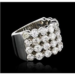 14KT White Gold 3.16 ctw Diamond Ring