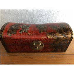 ASIAN NECK ROLL TRINKET BOX