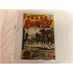 CHARLTON PUBLICATION - THE TEXAS RANGERS IN ACTION - NO. 6