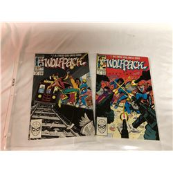 GR OF 2, MARVEL COMICS - WOLFPACK - NO 1 & 2