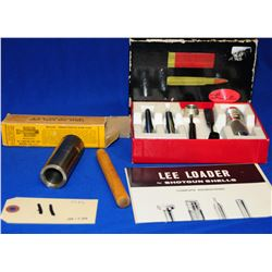 Re Sizing Tool and Lee Loader
