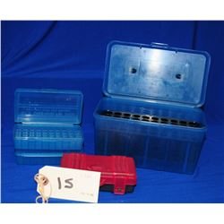 5 pc Lot of Plastic Amo Cases