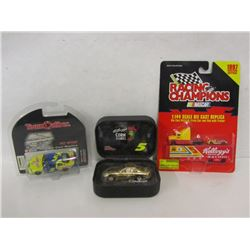 THREE KELLOGG'S DIE CAST STOCK CARS