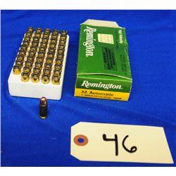 50 Rnds Remington 32 Auto