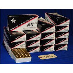 Box Lot 45 ACP Ammo