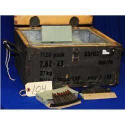 Box Lot 7.62 x 39 ammo