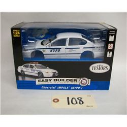 Testors Chevorlet Impala (NYPD) Die Cast Model Kit