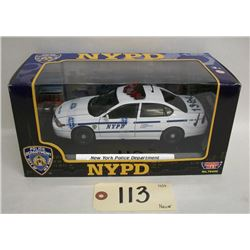 Motor Max NYPD Die Cast Car