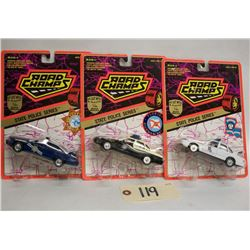 Road Champs Die Cast Cars (3): State Police Series