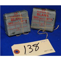 Vintage 303 British Ammo