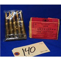 Vintage 303 British Ammo & 7.7 Japanese Ammo