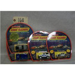 Majorette Sonic Flashers (set of 4) 2300 Series