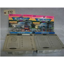Micro Machines Troopers Collection (65400 Ser.) x4