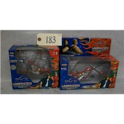 American Choppers Fire Bike-Model and Activity Set