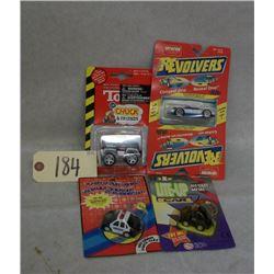 Set of 4 Die Cast Vehicles - Various Brands