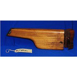 Replica Mauser Broomhandle Wooden Stock