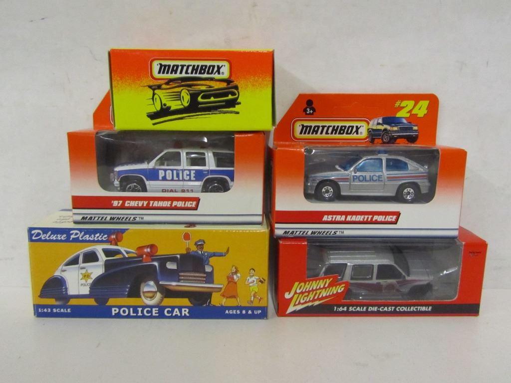 Law Enforcement Die Cast Vehicles