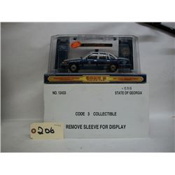 Code 3 Collectible Die Cast Police Car