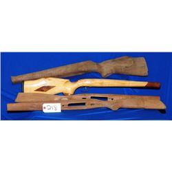 Four Wood Stocks