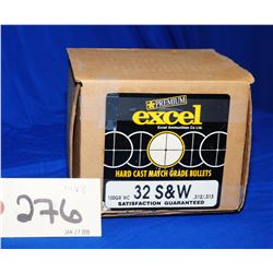 Excel  32 S&W  Projectiles