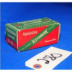 50 Rnds Remington Kleanbore 32-20 Win