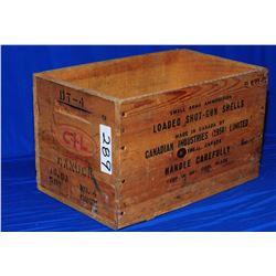 CIL Wooden Ammo Case