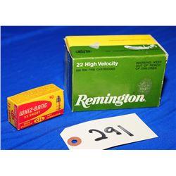 550 Rnds 22 Short ammunition